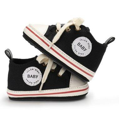 Baby Gympen Binkies Zwart Maat 19,20