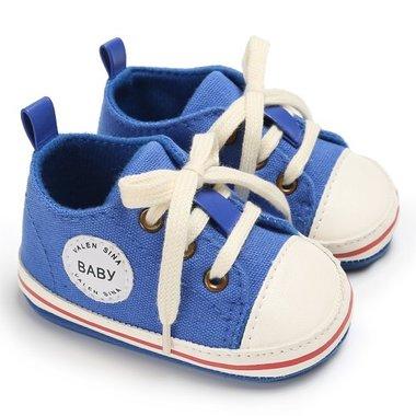 Baby Gympen Binkies Blauw Maat 18,20