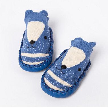 Baby Sloffen Bootles Blue Maat 17