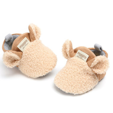 Baby Sloffen Little Sheep Brown Maat 17