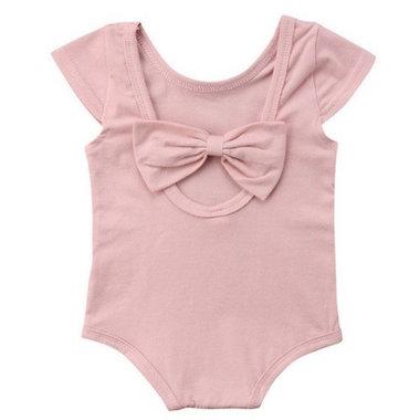 Baby Romper Strik Roze Maat 70-80