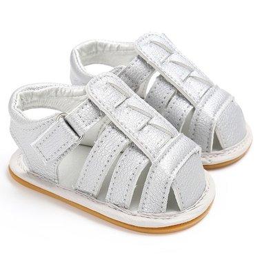 Baby Sandalen Joy Silver Maat 19-20