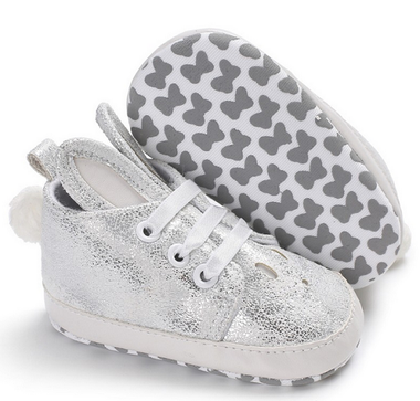 Baby Gympen Bunny Silver Maat 18&21