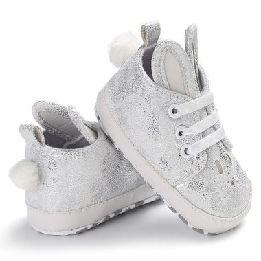Baby Gympen Bunny Silver Maat 18-21