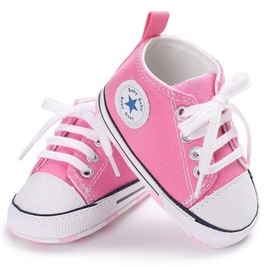 Baby Gympen Chuck Pink Maat 18-20