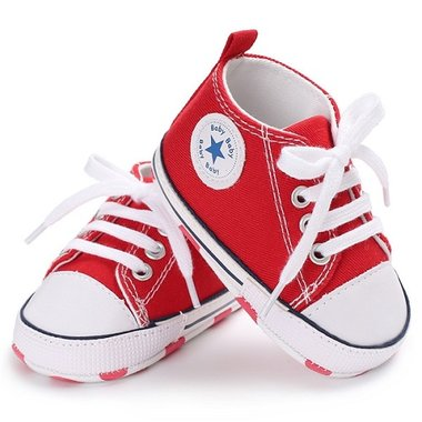 Baby Gympen Chuck Red Maat 18-21