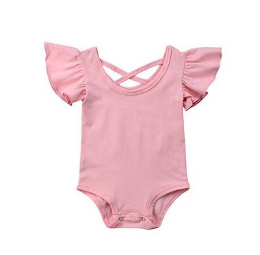 Baby Romper Ballet Roze Maat 70-80