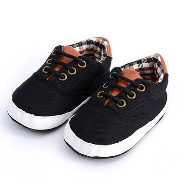 Baby Gympen Oxford Black Maat 18