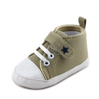 Baby Gympen Star Green Maat 19-20