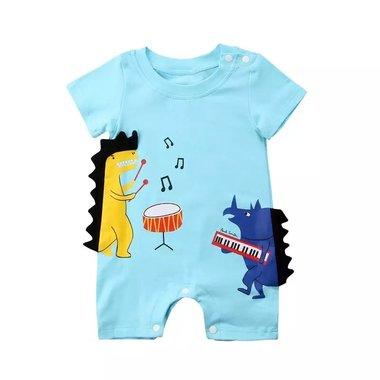 Baby Romper Dino Maat 70-80