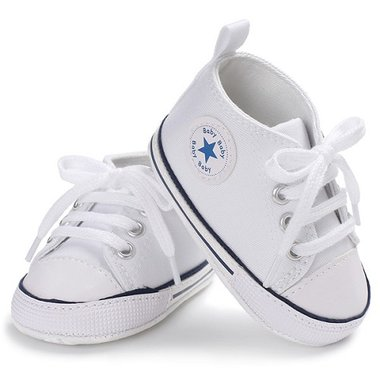 Baby Gympen Chuck White Maat 18-19