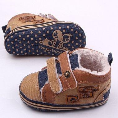 Baby Sneaker Gevoerd Maat 17&19