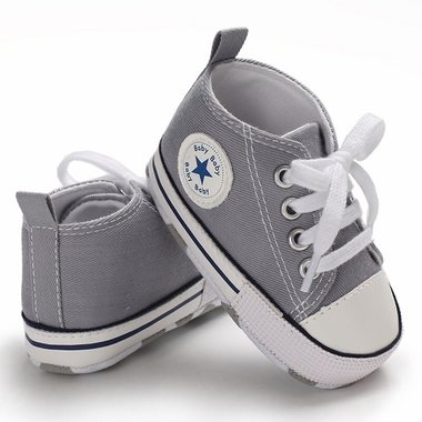 Baby Gympen Chuck Grey Maat 19-20