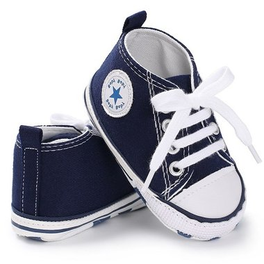 Baby Gympen Chuck Blue Maat 20