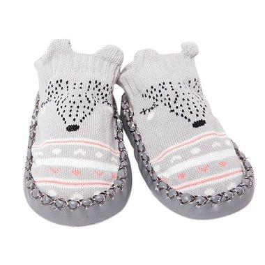 Baby Sloffen Bootles Grey Maat 17