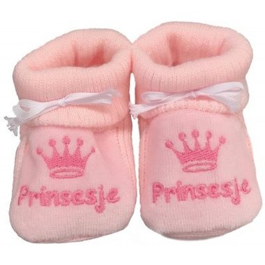Babyslofjes Newborn Roze