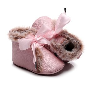 Baby Winter Schoentjes Queen Pink