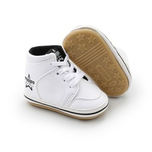 Baby Sneaker Hoog White