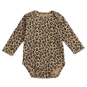 Baby Romper Leopard Bruin