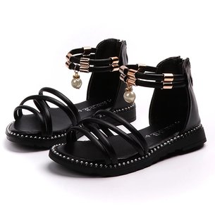 Peuter sandalen met parel
