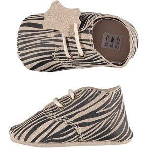 XQ Leather Little Shoes Zebra