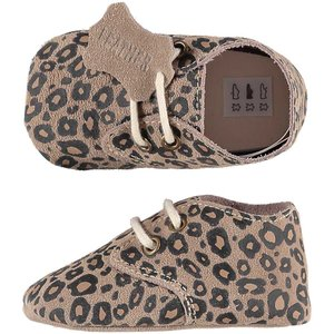XQ Leather Little Shoes Luipaard