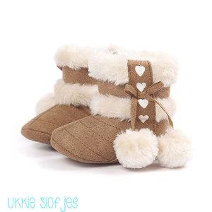 Baby Laarzen Love Bruin Winter meisjes