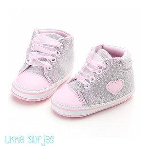 Baby Sneakers Lace Up