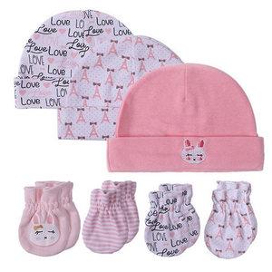 Baby Mutsjes Krabwantjes Roze