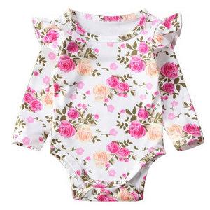 Baby romper roses