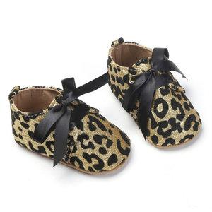 Babyschoenen Luipaard Goud