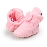 Babysloffen Fleece Roze
