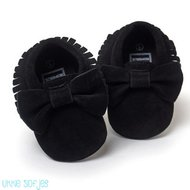 Baby Mocassins Suede Black