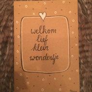Babykaart Wondertje