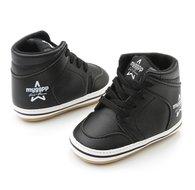 Hoge baby sneaker zwart