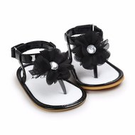 Baby Slippers Diamond Black