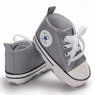 Baby Gympen Chuck grijs babyschoenen maat 19 20